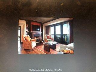4 BEDROOM RITZ-CARLTON CLUB, LAKE TAHOE NOV 23-27TH