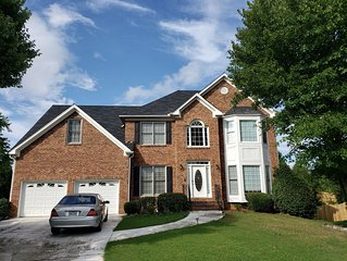 Marietta Large Home 5 bedrooms & 3 baths has 7 TV's