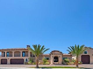 12BD/11BA Luxury, Desert, Gated, Private Estate, River-Pool, SPA, Shared Tennis