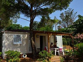 Domaine Sainte Veziane*** - Mobil home Premium Climatisé 3 pièces 4/6 personnes