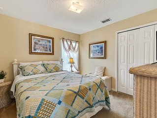 Ideal for large family groups, peaceful community
