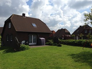 Pure Erholung! Familienfreundliches Ferienhaus mit grossem Garten.