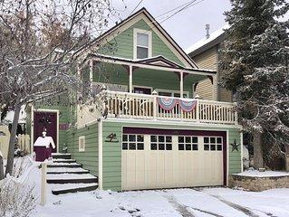 Park Av Remodeled Historical Home Steps to Main St./Ski-Sleeps 12-14