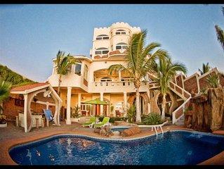 Mazatlan Sandcastle Oceanfront Villa
