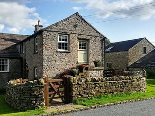 Timbessie Barn in the heart of traditional Wensleydale village, Yorkshire Dales.