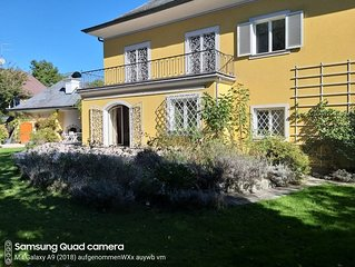 Salzachvilla - Apartment Erdgeschoss 160m2 mit Pool