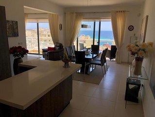 Ferienwohnung Marsascala fur 2 - 4 Personen mit 2 Schlafzimmern - Penthouse-Feri
