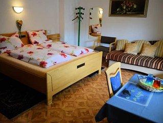 Doppelzimmer mit Balkon - Gästehaus Grau