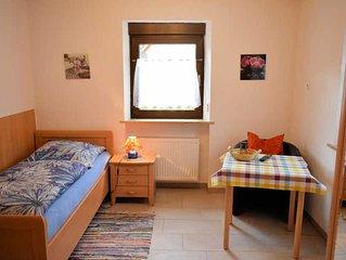 Einzelzimmer (Etagendusche/WC) - Gästehaus Grau