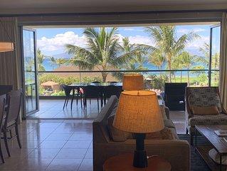 Maui Westside Properties: Amazing 2 Bed Frontline W/ BBQ - Honua kai - K301