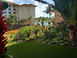 Maui Westside Properties - Ground Floor 1 Bedroom with Huge Play lawn - H108