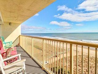 Pelican Watch 702 - Oceanfront condo with spectacular view, Indoor/Outdoor Pool!