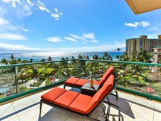Maui Westside Properties - Amazing 2 Bed Frontline W/ BBQ - Honua Kai - K501