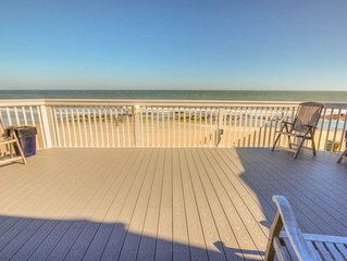 Oceanfront Townhome with Huge Deck and Indoor and Outdoor Pools