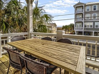 3 Bedroom Ocean View Condo with Pool and steps from the beach!