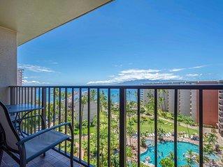 Maui Westside Properties Great Ocean Views from Private 9th Floor One Bedroom