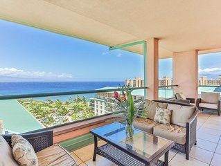 Maui Westside Properties - 3 Bed Penthouse Gorgeous Ocean Views w/Private BBQ