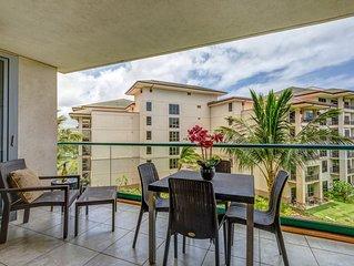 Maui Westside Properties: Honua Kai - Hokulani 414  1 Bed partial Ocean View