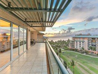 Maui Westside Properties- Great Ocean Views w/Huge Lanai - Honua Kai H836