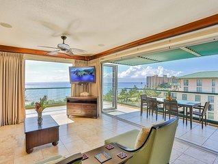 Maui Westside Properties - Honua Kai H709 Best Ocean Views Huge Lanai w/BBQ!