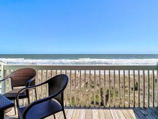 Oceanfront Condo, 2 bed, 2.5  bath, indoor heated pool and outdoor pools