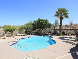 POOL IS STEPS AWAY! OUTSTANDING DEAL IN THIS AWESOME VET OWNED 2BR/2BATH CONDO