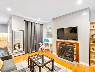 Cozy 2BD Apt in Center City of Broad &South Street