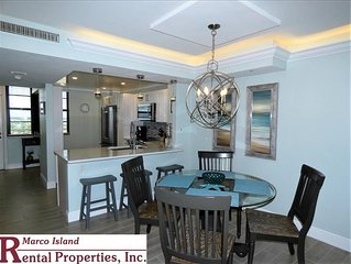 South Seas T4-1805: Totally Remodeled Beachfront Condo; Outstanding View!