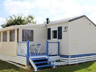 Camping Au Pré de l'Etang - Mobil home 3 pièces 4 personnes