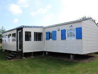 Camping Au Pré de l'Etang - Mobil home Confort 3 pièces 4 personnes