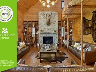 Hunter Valley Lodge & Retreat - STAYZ HOLIDAY HOME FINALIST 2019
