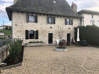 Maison Auvergnate Rénovée en 2018