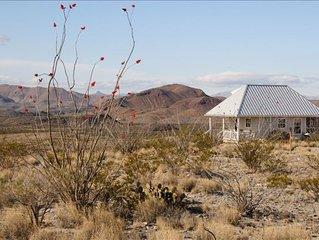 Terlingua Ranch Retreat: Solitude in Natural Harmony. 90 acres near Big Bend Nat