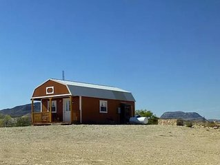 """Sherri's Terlingua Cabin on the Creek: Conveniently located 'tiny house"""" with ea"""