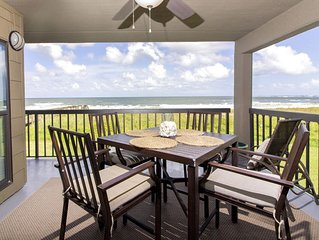 Direct Oceanfront Condo ~ Steps to the Beach & Restaurants!
