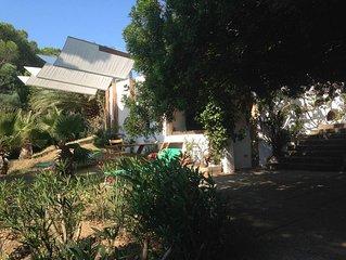Monolocale autonomo in villa con giardino.