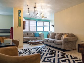 Remodeled Apartment steps to the Placita of Santurce, best downtown in the area.