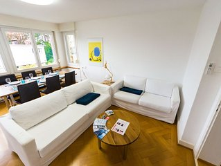 Sunny & quiet apartment in Zurich, 20 min from city center.