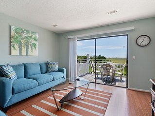 Condo With Lovely Marsh Views and Steps to Water