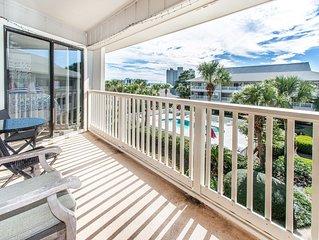 30A☀️3BR Beachwood Villas C12☀️ Feb 22 to 24 $566 Total! Walk 2 Beach- 2 Pools