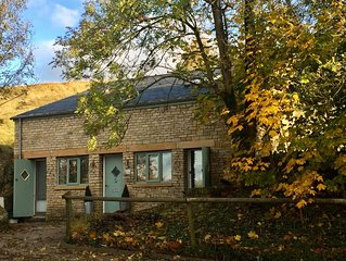 Cotswold Detached Hillside Cottage packed with Quirky Character