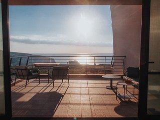 Gozo Dwejra Views Apartment with communal pool