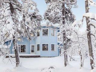 Ferienhaus Vuonelo in Inari - 6 Personen, 2 Schlafzimmer