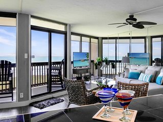 Sandpiper  #403L: Beachfront 1 Bedroom 1 Bathroom With Spectacular Views and 24