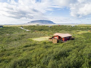 Beautiful country house on the Golden Circle, close to cater Kerið