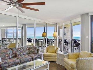 Sandpiper Condominiums 309, Panoramic Gulf Views w/ direct access to Mustang Isl