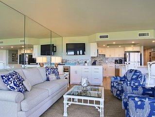 Sandpiper Condominiums 102, Panoramic Gulf Views w/ direct access to Mustang Isl
