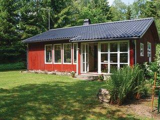 1 Zimmer Unterkunft in Asljunga