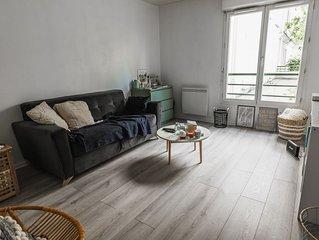 HostnFly apartments - Charmant studio près des Buttes-Chaumont