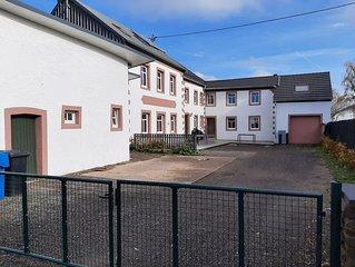 Südeifel Ferienhaus mit 15 Schlafzimmer zur Alleinnutzung